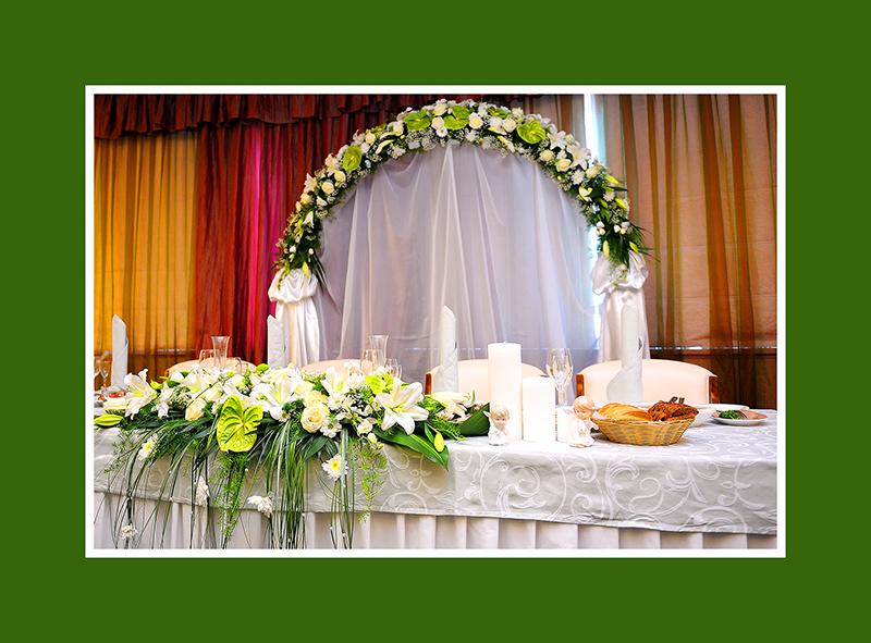Brautpaartisch Hintergrund 1