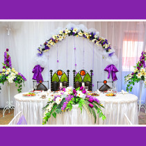 Brautpaartisch Hintergrund