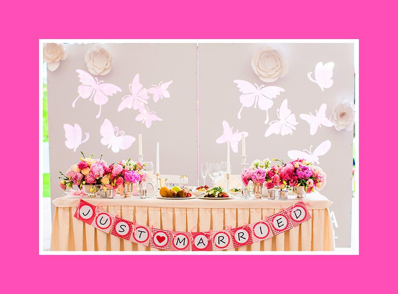 Brautpaartisch Hintergrund 4