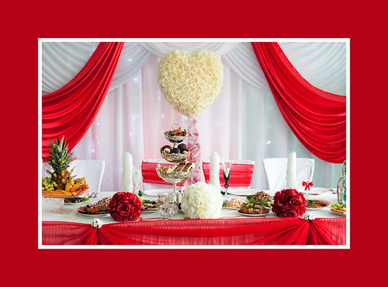 Dekoration Brautpaartisch Hochzeit