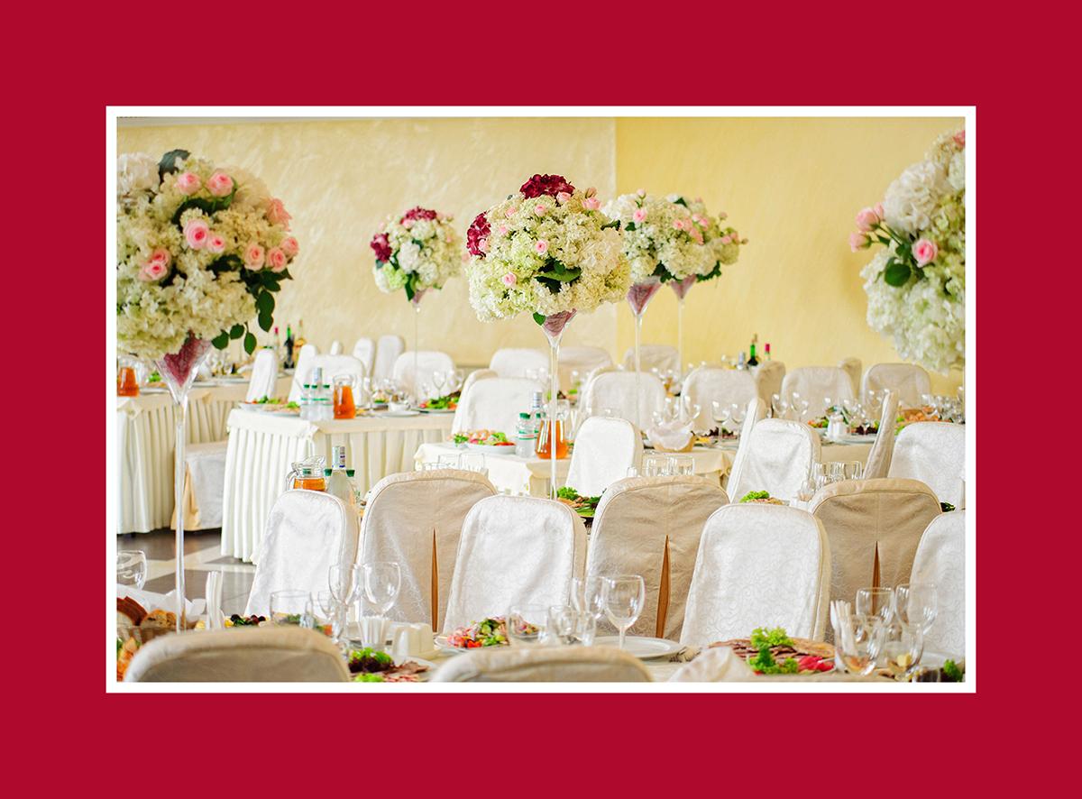 Hochzeits Tischdekoration Mit Vase